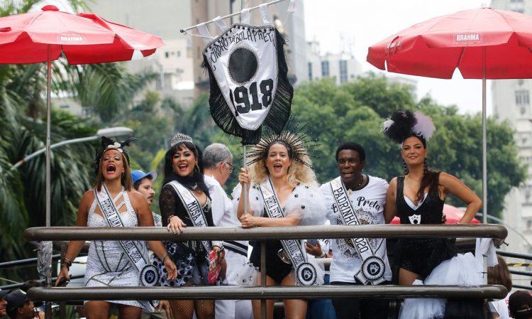 Cordão da Bola Preta faz seu 102º pelas ruas do centro do Rio de Janeiro. Tomaz Silva/Agência Brasil