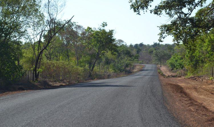 Rodovia melhora o acesso ao Parque de Sete Cidade. Foto: Ccom
