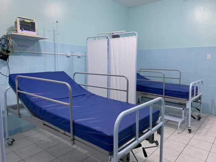 Hospital de Amarante recebe equipamentos contra a covid. Foto: Sesapi