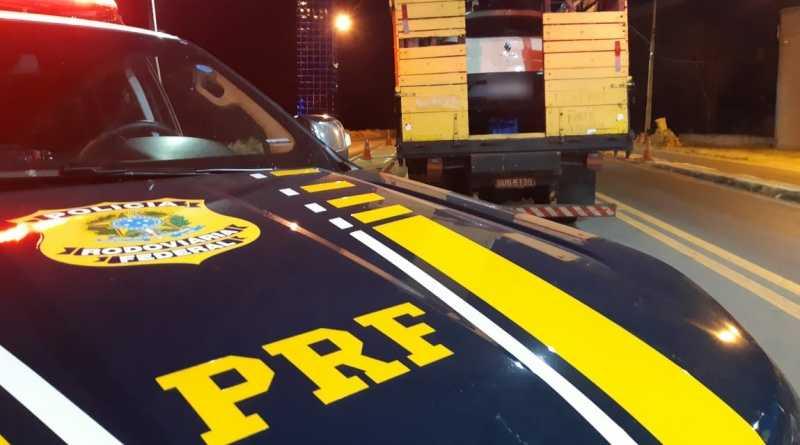 O documento do carro apreendido tinha sido roubado do Detran/PE. Foto: Divulgação