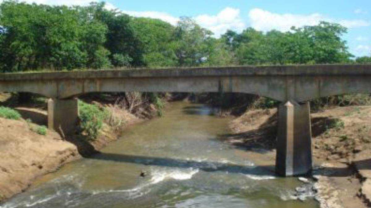 Rio dos Matos em Piripiri. Foto: Reprodução