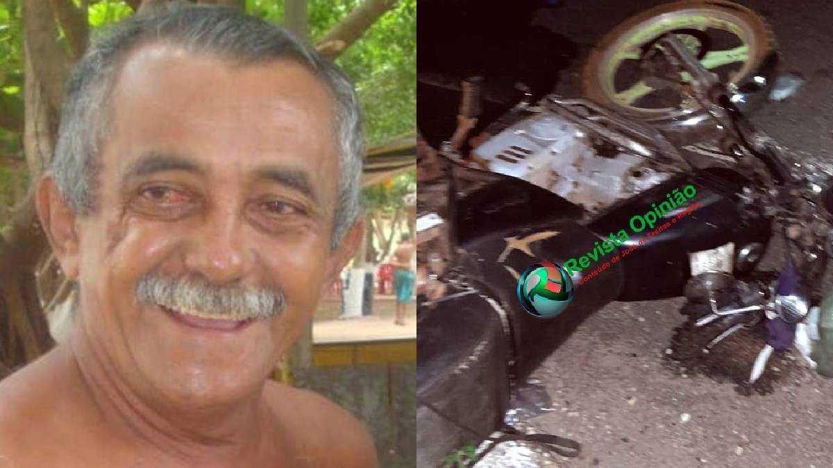 José de Araújo Lima tinha 65 anos. Foto: Reprodução.