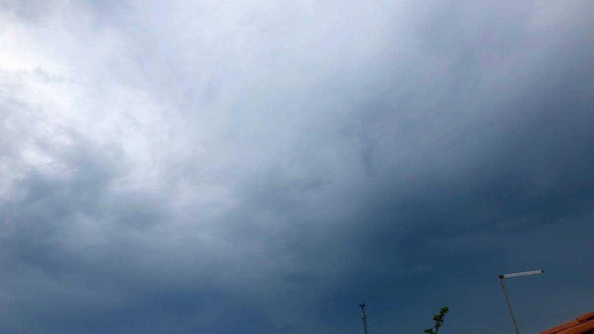 Teresina tem céu com muitas nuvens na segunda (23). Foto: Stefanne Orana