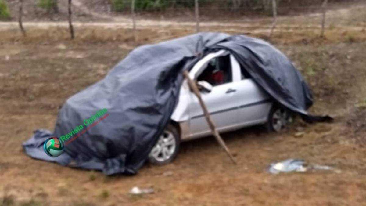 O acidente aconteceu na PI-113. Foto: Revista Opinião
